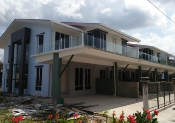 50 houses project in Sabah, Malaysia, in 2015