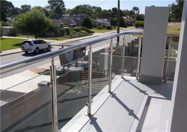 villa balustrade project in Perth, Australia in 2010