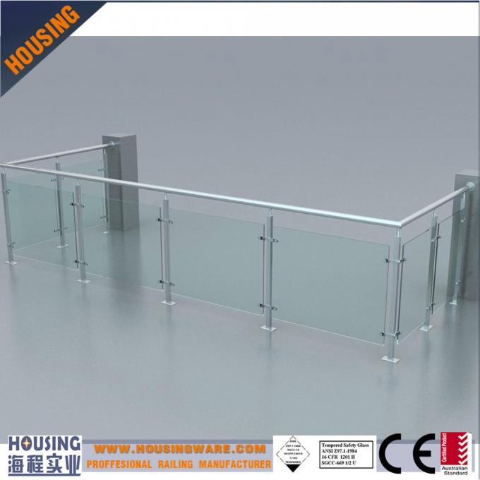 ss glass banisters price with best quality(030)