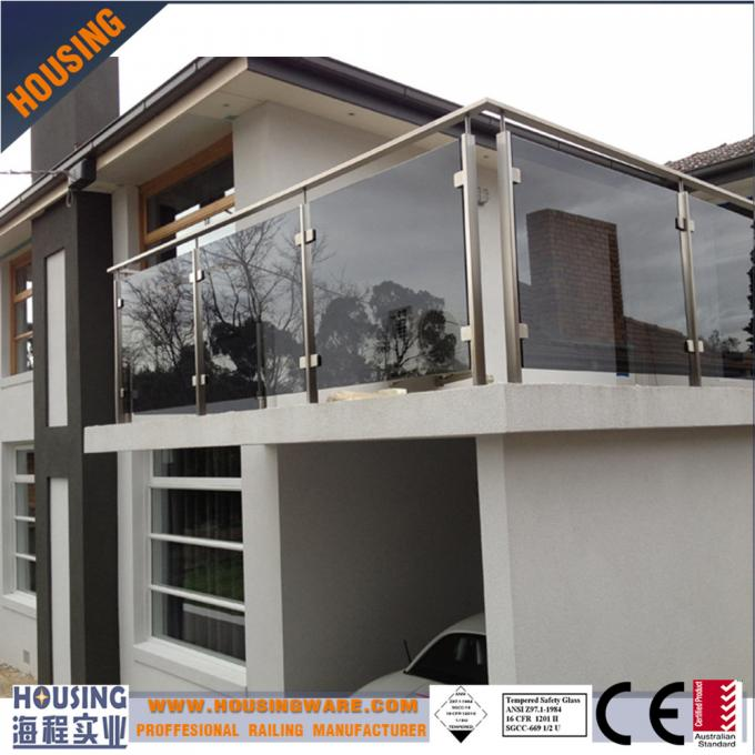 European standard frameless balustrade with high quality(013)