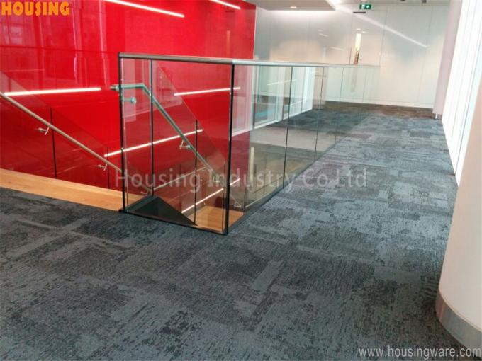 Cheap price u channel glass railing aluminum profile railing