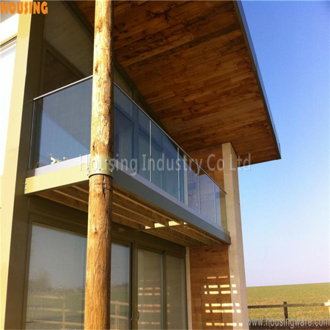 u base channel glass railing for laminated glass