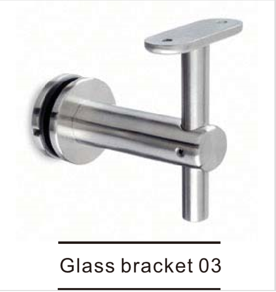Glass bracket solution 3