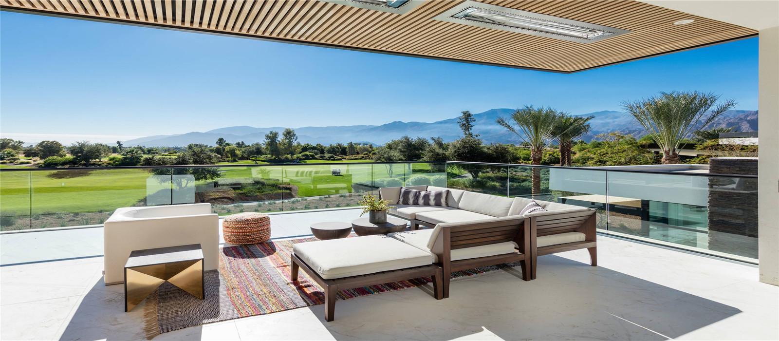 High end fremeless glass railing from Housing Industry Co.,Ltd